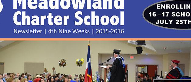 4th Nine Week Newsletter